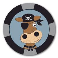 Schwimmabzeichen Pirat